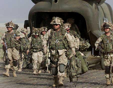 美国特种部队一士兵在阿富汗东部遇袭身亡(附图)