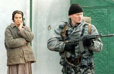 资料组图 俄特种部队中的 阿尔法 在车臣图片