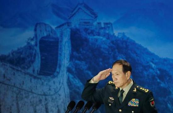 中国防长:将不惜一切代价挫败任何分裂台湾企图