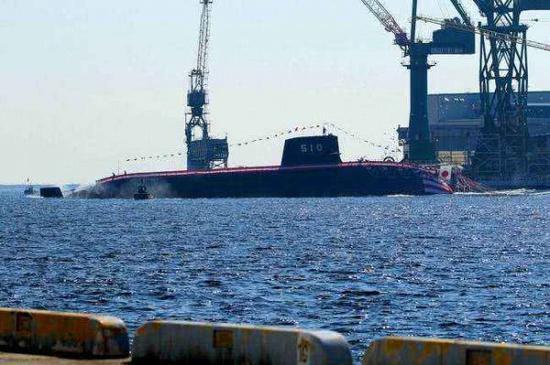 图为日本苍龙级柴电潜艇