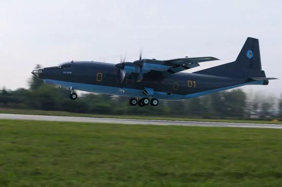 中国军工仿制的苏联运输机 现在又返销独联体(图)