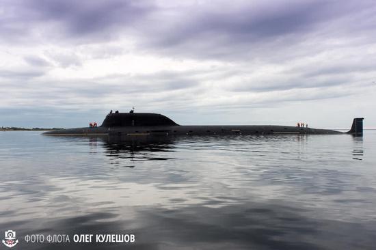 俄称新核潜艇战力优于美弗吉尼亚级 潜深多出100米