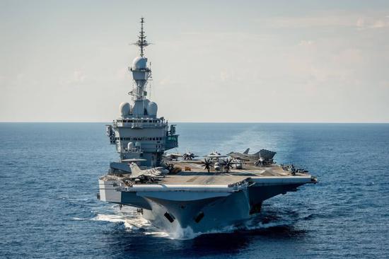 """法国将派航母赴印度洋 号称要""""捍"""
