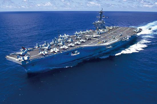美媒:美军可用中程导弹代替航母 阻止中国进入南海