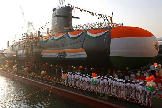 印度海军未采购配套鱼雷 新潜艇服役后长期没雷可用