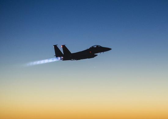 美国联军空袭叙利亚