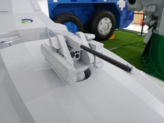 全球最小神盾舰现身航展 装相控阵雷达和垂发系统