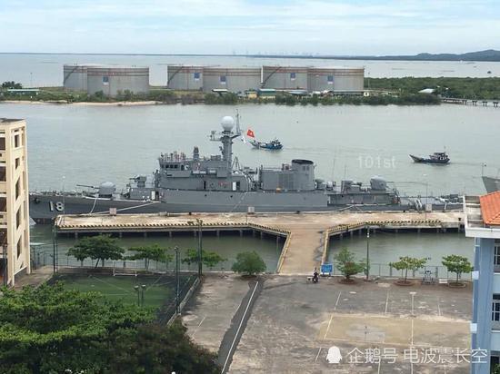 韩国又赠送越南二手护卫舰 未装导弹只配火炮鱼雷