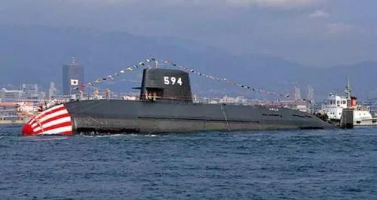 ▲日本海自亲潮级潜艇