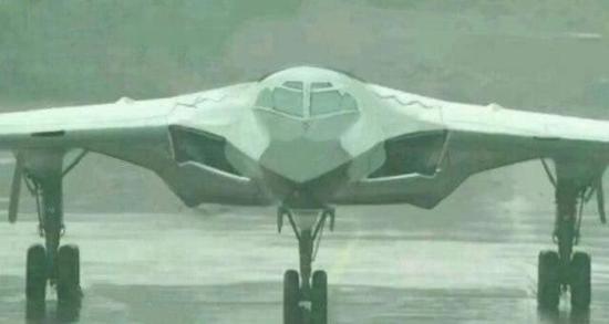 外媒称中国官方正式提及轰20 已发布飞机轮廓照片