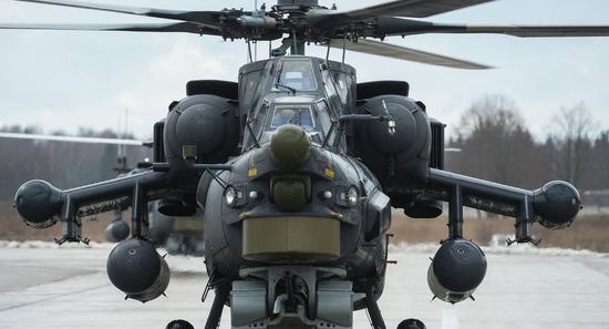 俄军米28直升机将配备激光防护系统 可烧毁来袭导弹