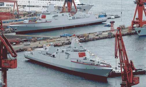 中国海军055型驱逐舰