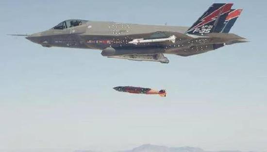 美媒批评美军F35B空袭