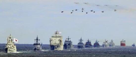 韩国国际阅舰式 图日本产经新闻