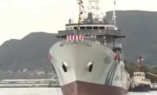 日本6000吨级巡视船下水 计划部署钓鱼岛周边海域