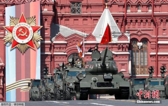 俄今日将在红场举行阅兵 这款坦克引领武器方阵