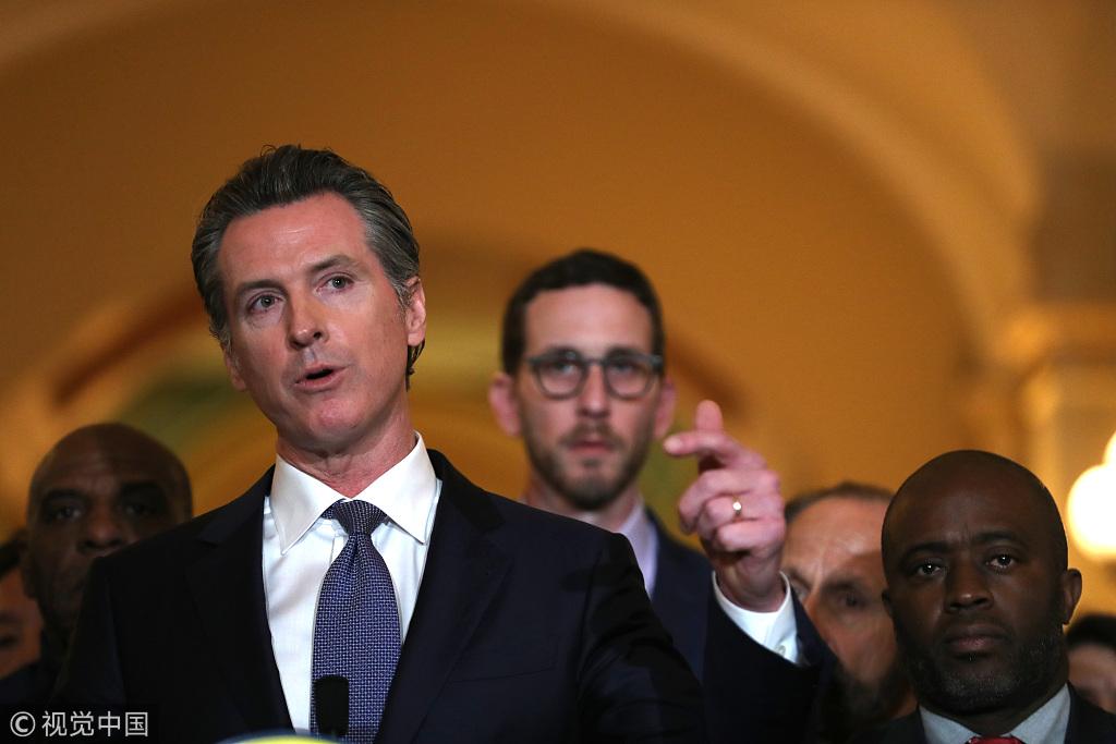 加州暂停执行死刑 特朗普怒发推:我们都不高兴