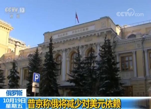 普京批评美国对俄制裁 称俄将减少对美元依赖