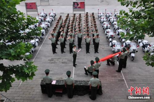 走进中国武警国宾护卫队:3天重建
