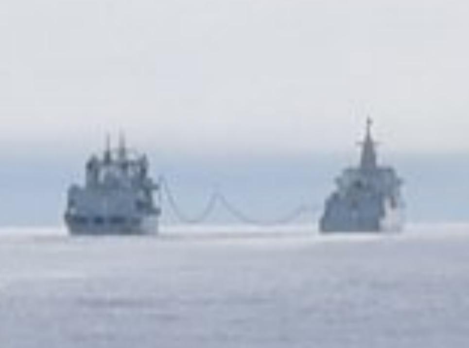 055编队穿越大隅海峡返回东海 此前曾现身阿拉斯加