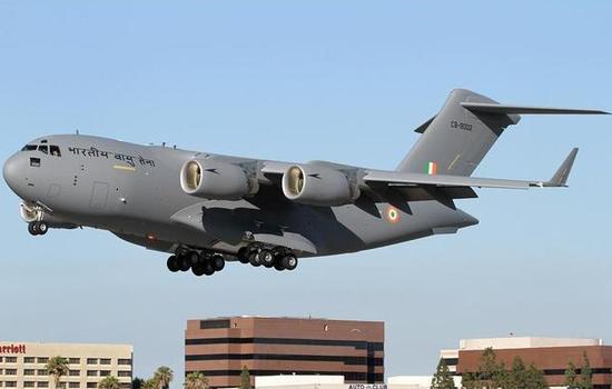 印度将派C17运输机赴武汉执行撤侨与运输物资任务
