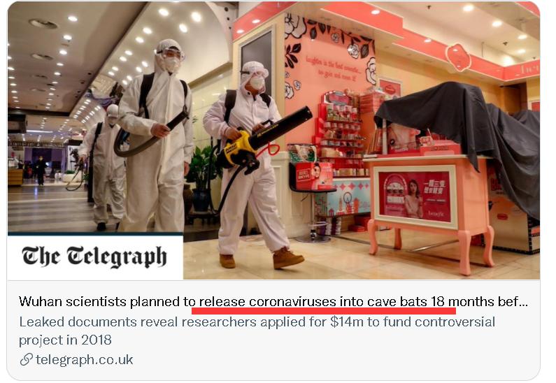 反华势力向中国泼的脏水 却证实了美国改造冠状病毒
