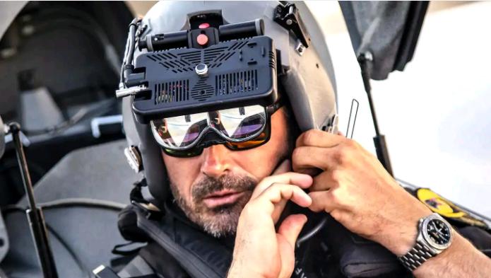 美国空军使用AR设备训练飞行员 模拟与歼20展开空战