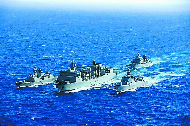 中国舰队为何进入西半球 我军专家:打破美霸权思想