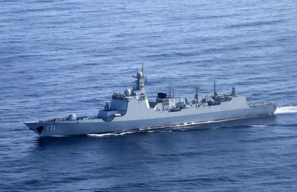 材料图片:中国水师海口舰。(图片来源于网络)