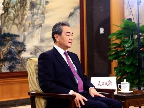 ▲国务委员兼外交部长王毅(外交部网站)