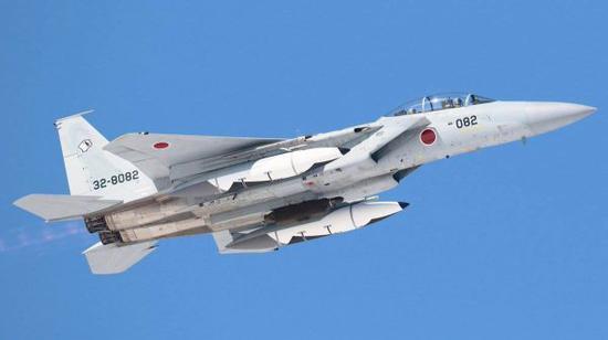图为日本航空自卫队装备的战机
