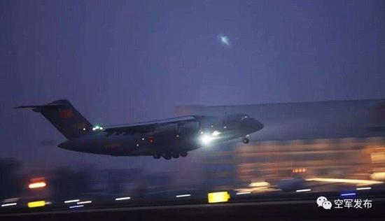 中国空军出动10架次运20驰援武汉|运-20|新冠肺炎