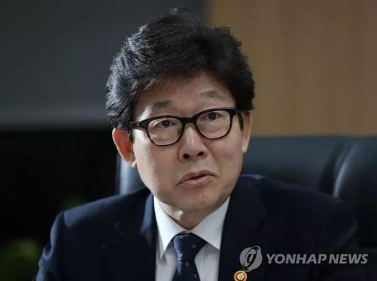 ▲韩国环境部长官赵明来(韩联社)