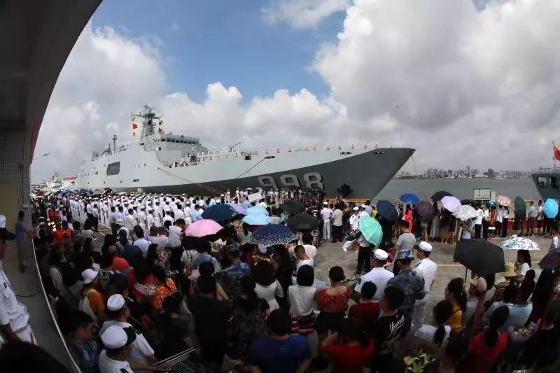 中国海军第31批护航编队返回湛江军港(图)