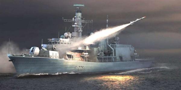 054B排水或达5000吨拥32单元垂发 战力远超英国26型