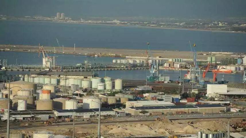 ▲以色列海法港