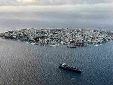 ▲马尔代夫首都马累